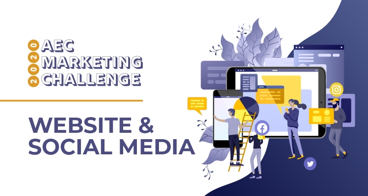 2020 AEC Marketing Challenge: Website & Social Media