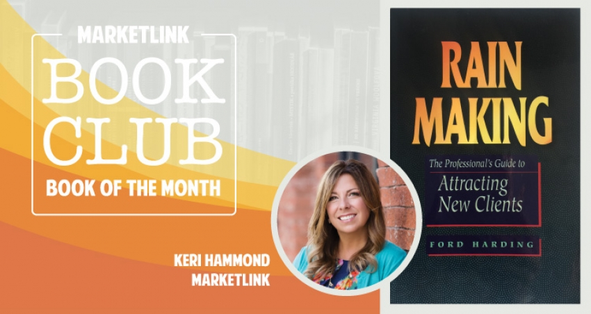 MARKETLINK Book Club: Rain Making