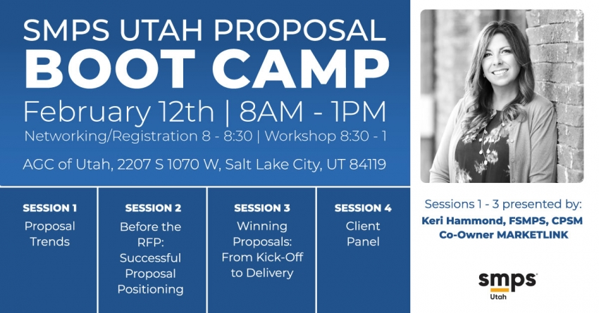 Event: AGC of Utah and SMPS Utah Proposal Bootcamp